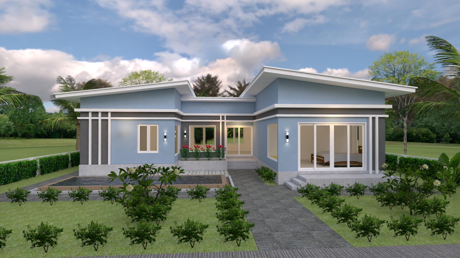 Rumah Minimalis Sederhana Dengan Konsep Desain Berbentuk U