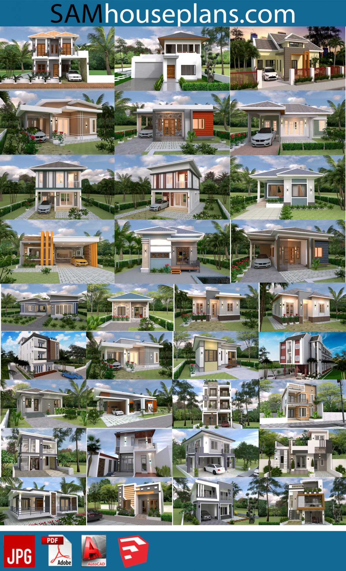 66 House Design Plans for sell 2
