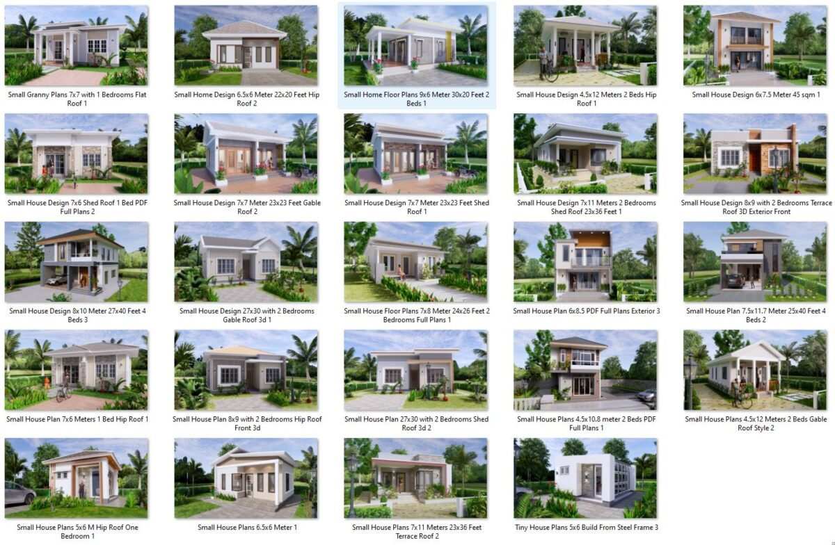 74 House Design Plans Available For Sell 03